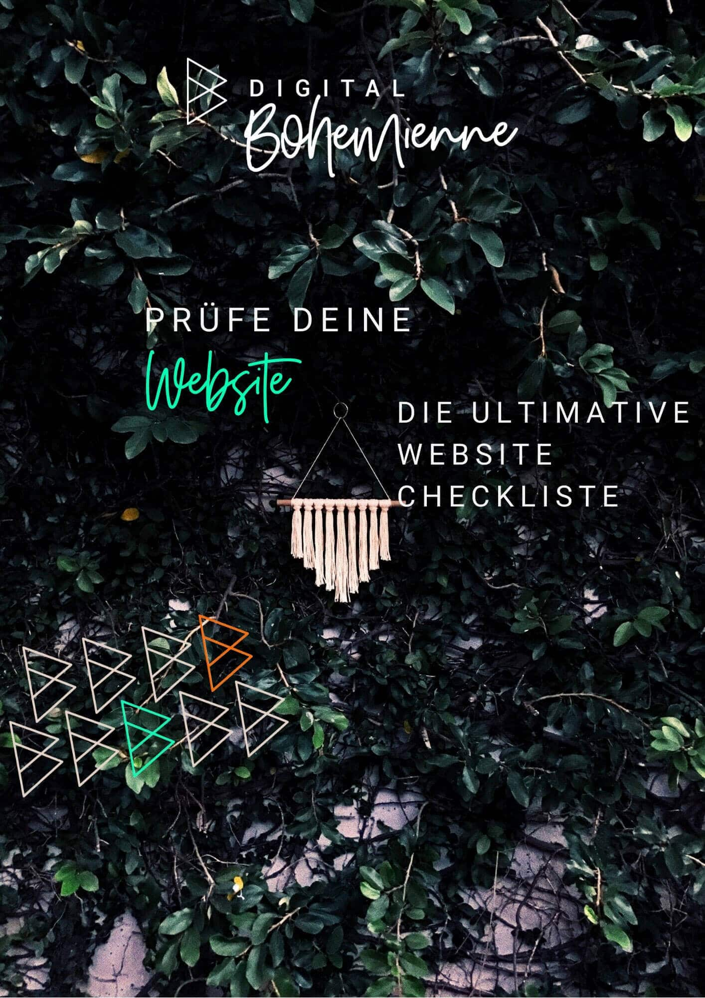 ultimative website checkliste freebie digital bohemienne